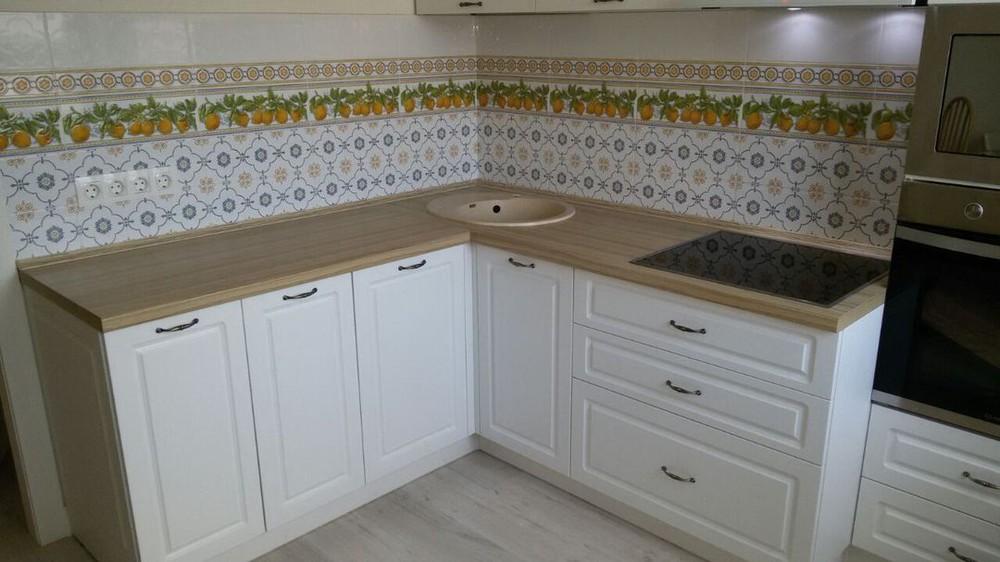 Акриловые кухни-Кухня МДФ в эмали «Модель 192»-фото3