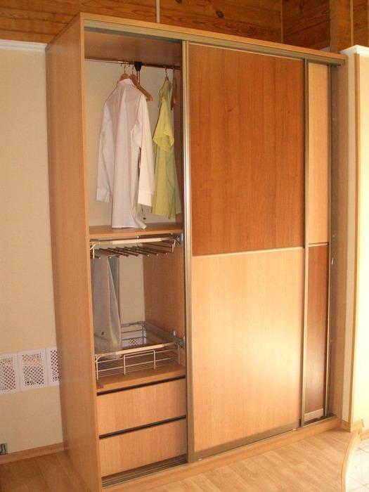 Встроенные шкафы-купе-Шкаф-купе из ЛДСП «Модель 174»-фото1