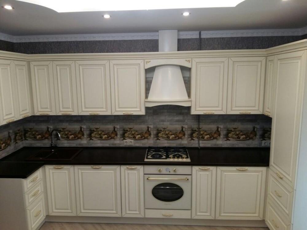 Белый кухонный гарнитур-Кухня МДФ в ПВХ «Модель 146»-фото4