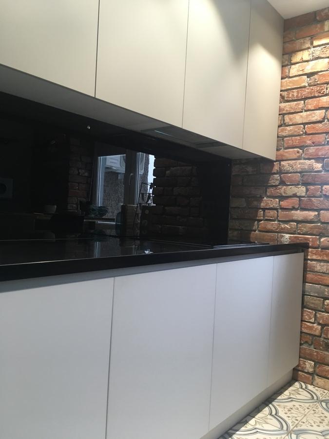 Белый кухонный гарнитур-Кухня МДФ в ПВХ «Модель 66»-фото2