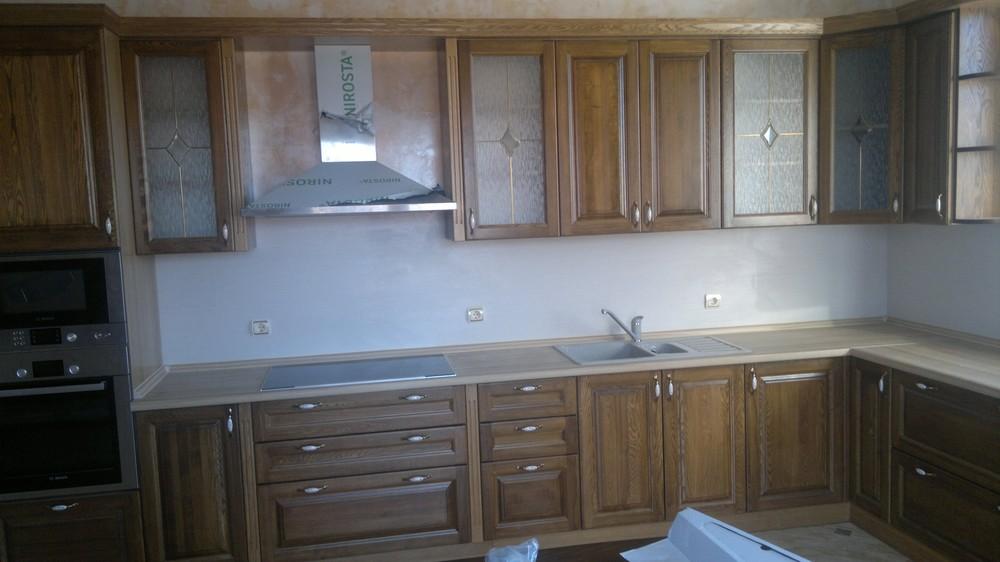 Встроенная кухня-Кухня из шпона «Модель 333»-фото4