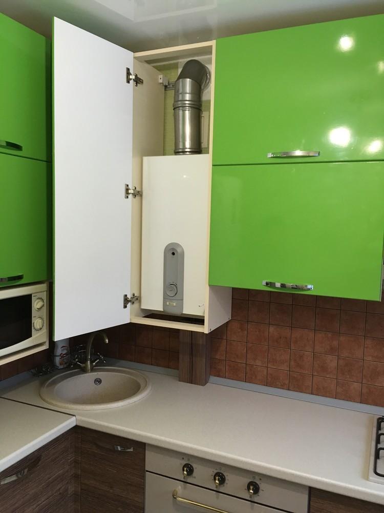 Встроенная кухня-Кухня МДФ в ПВХ «Модель 310»-фото7