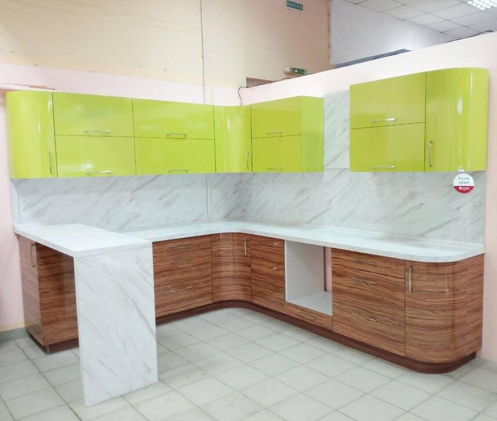 Встроенная кухня-Кухня МДФ в ПВХ «Модель 313»-фото2