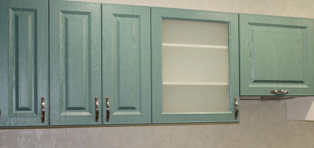 Встроенная кухня-Кухня МДФ в ПВХ «Модель 338»-фото5