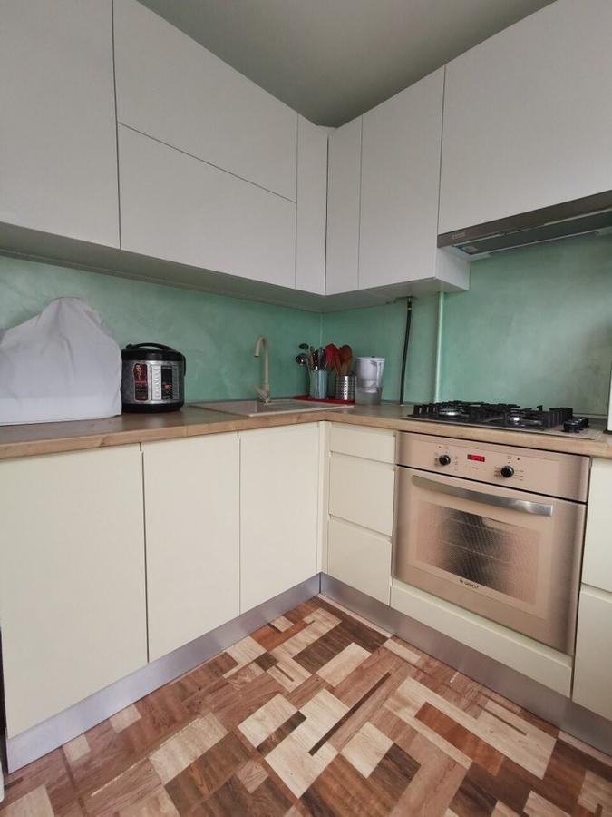 Белый кухонный гарнитур-Кухня МДФ в эмали «Модель 173»-фото2