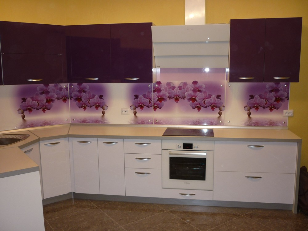 Акриловые кухни-Кухня из пластика «Модель 207»-фото6