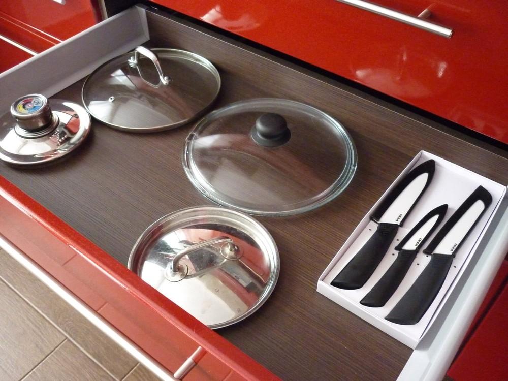 Встроенная кухня-Кухня МДФ в ПВХ «Модель 264»-фото4