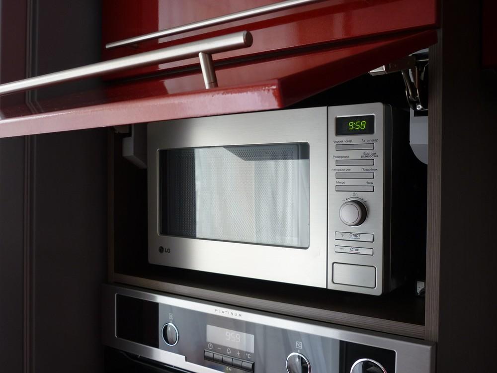 Встроенная кухня-Кухня МДФ в ПВХ «Модель 264»-фото8