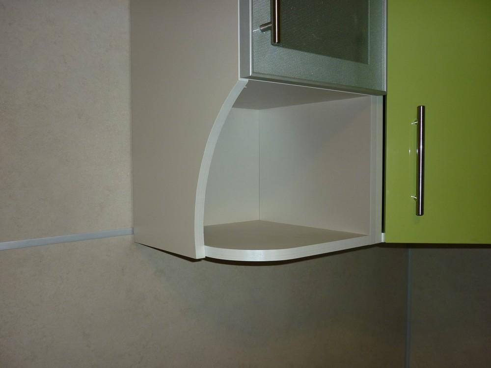Встроенная кухня-Кухня МДФ в ПВХ «Модель 261»-фото4
