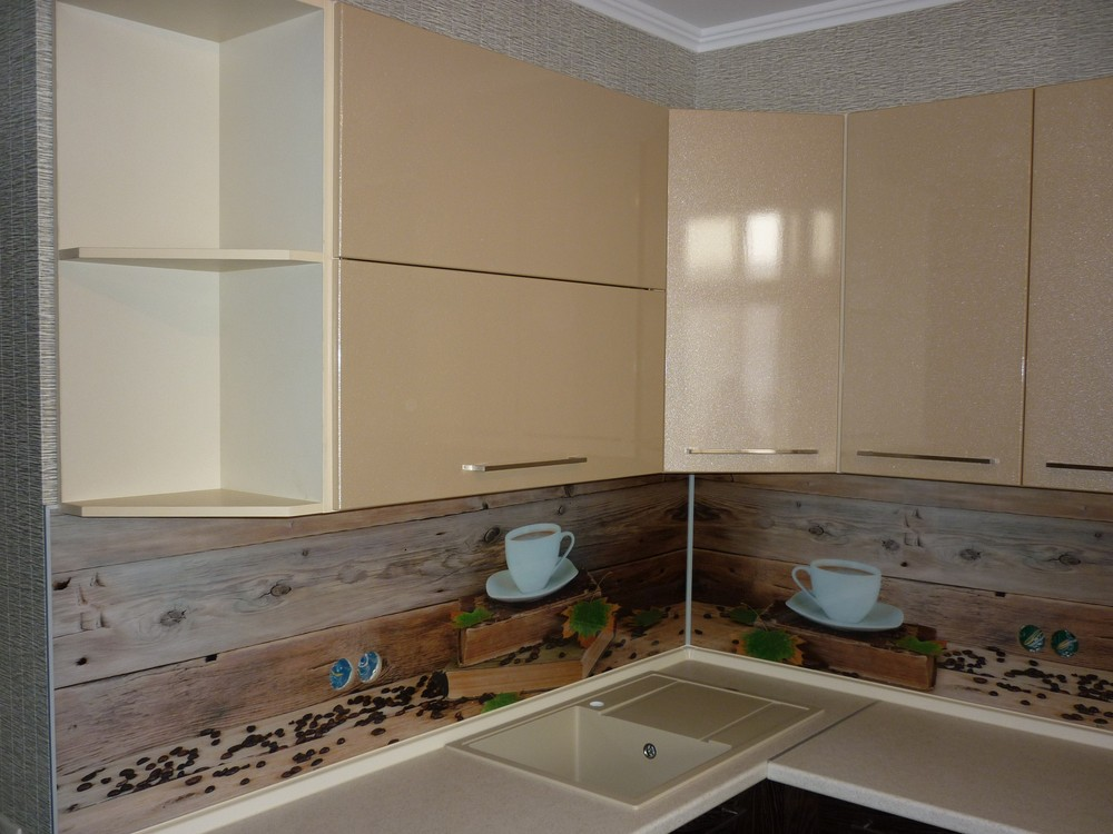 Купить кухню-Кухня МДФ в ПВХ «Модель 243»-фото3