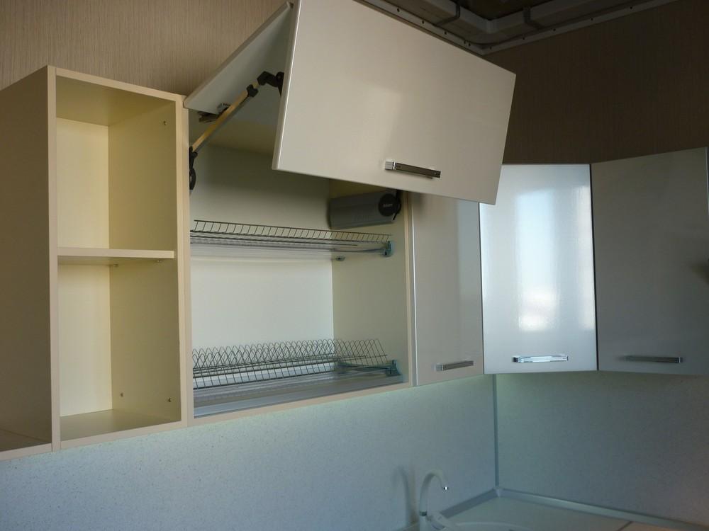 Встроенная кухня-Кухня МДФ в ПВХ «Модель 233»-фото3