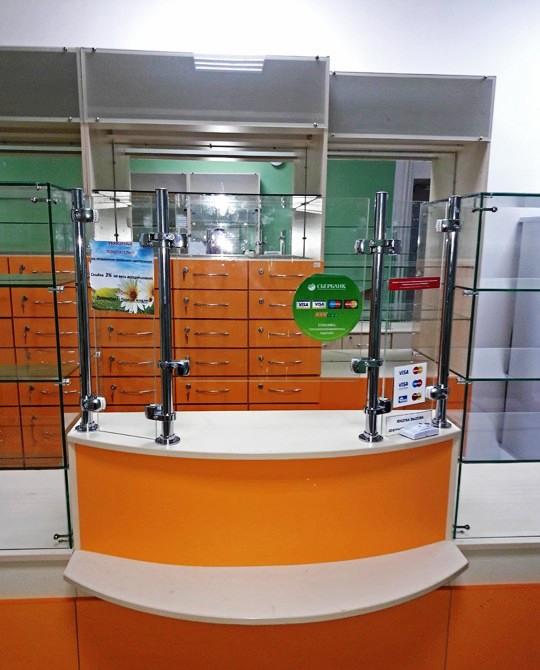 Торговая мебель-Мебель для аптеки «Модель 191»-фото2