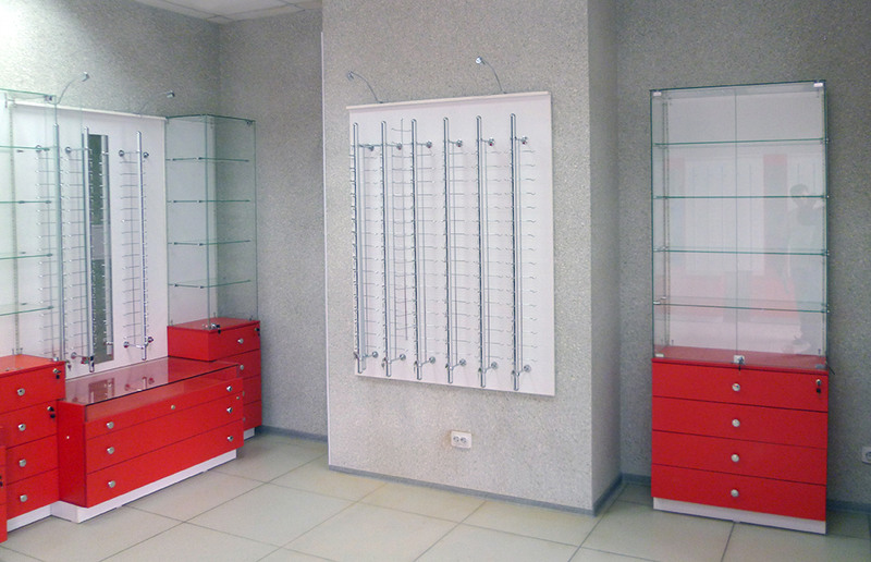 Торговая мебель-Мебель для оптики «Модель 208»-фото3
