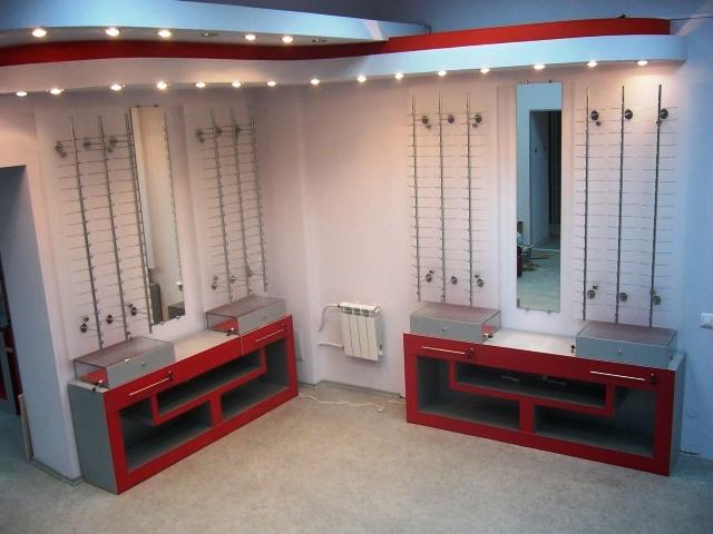 Торговая мебель-Мебель для оптики «Модель 196»-фото8