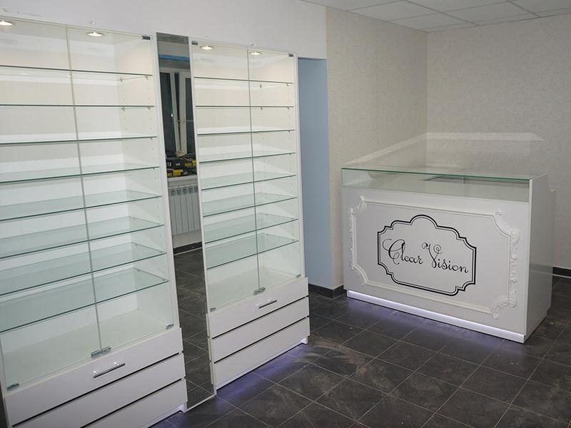 Торговая мебель-Мебель для оптики «Модель 214»-фото3