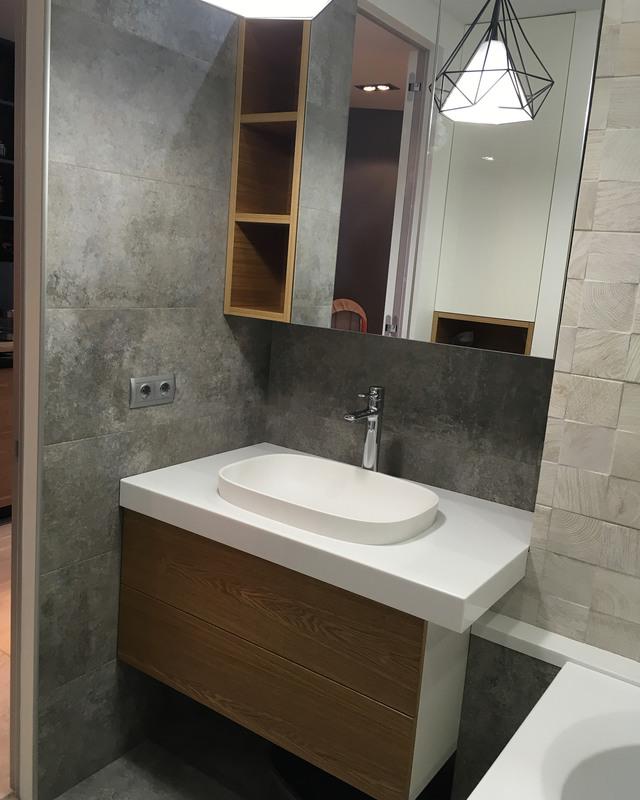 Мебель для ванной комнаты-Мебель для ванны «Модель 44»-фото3