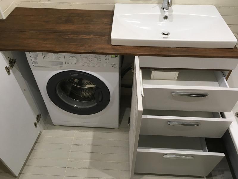 Мебель для ванной комнаты-Мебель для ванной «Модель 1»-фото4