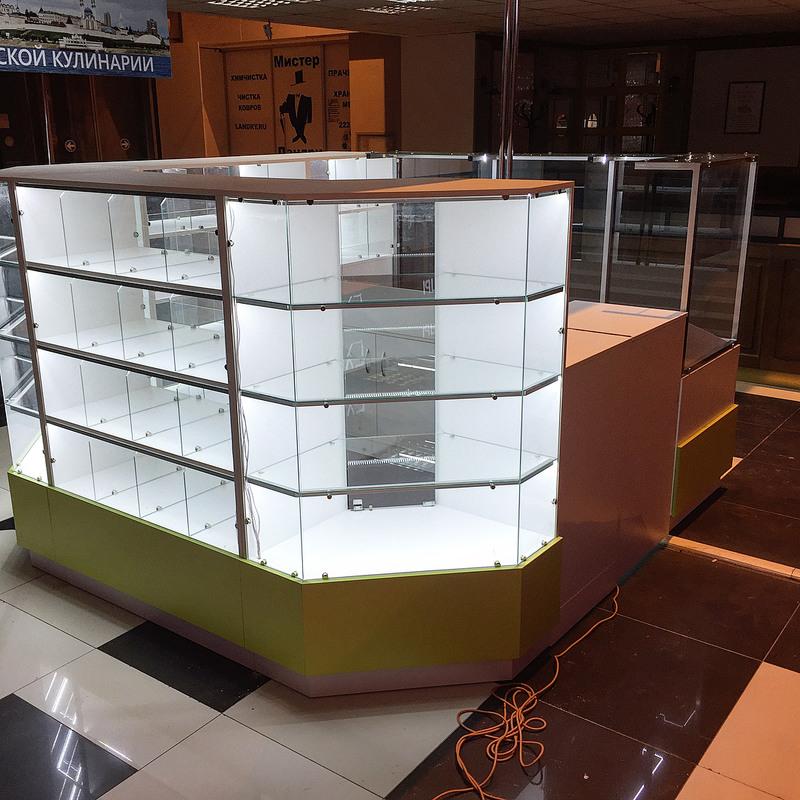 Торговая мебель-Торговый островок «Модель 262»-фото3