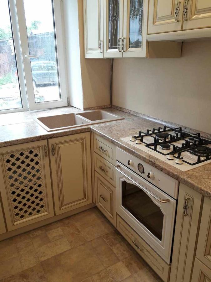 Белый кухонный гарнитур-Кухня «Модель 482»-фото2