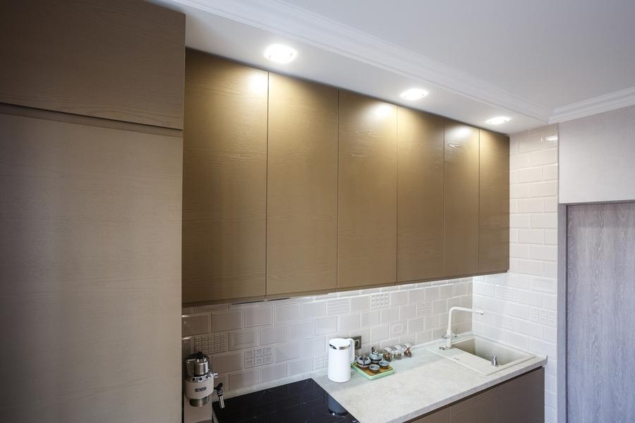 Встроенная кухня-Кухня из ЛДСП «Модель 425»-фото5