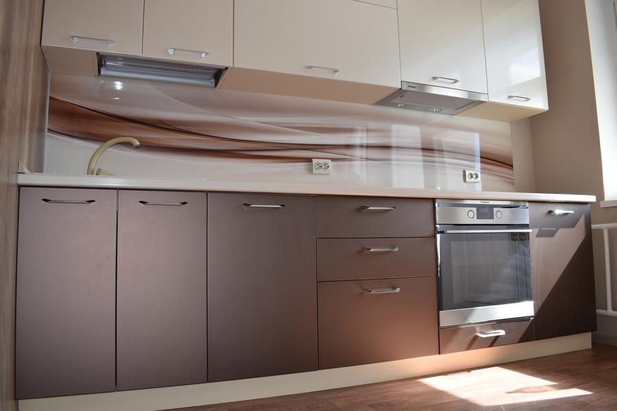 Белый кухонный гарнитур-Кухня МДФ в ПВХ «Модель 504»-фото5