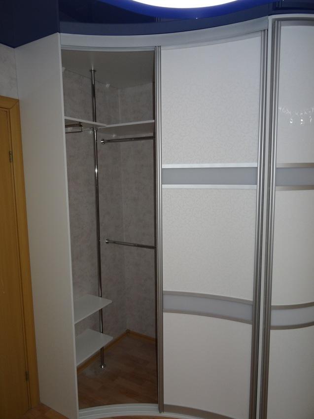 Белые шкафы-купе-Шкаф-купе из ЛДСП «Модель 467»-фото2