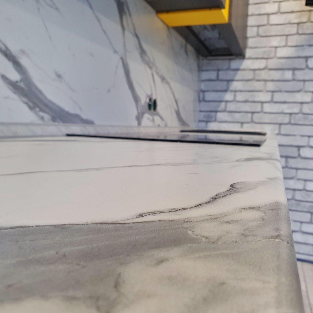 Встроенная кухня-Кухня МДФ в ПВХ «Модель 536»-фото8