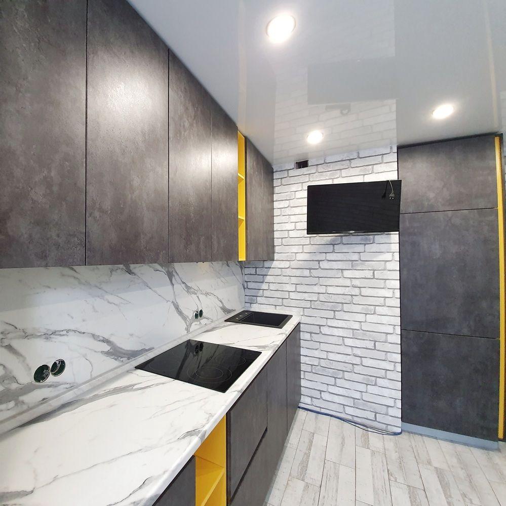 Встроенная кухня-Кухня МДФ в ПВХ «Модель 536»-фото5