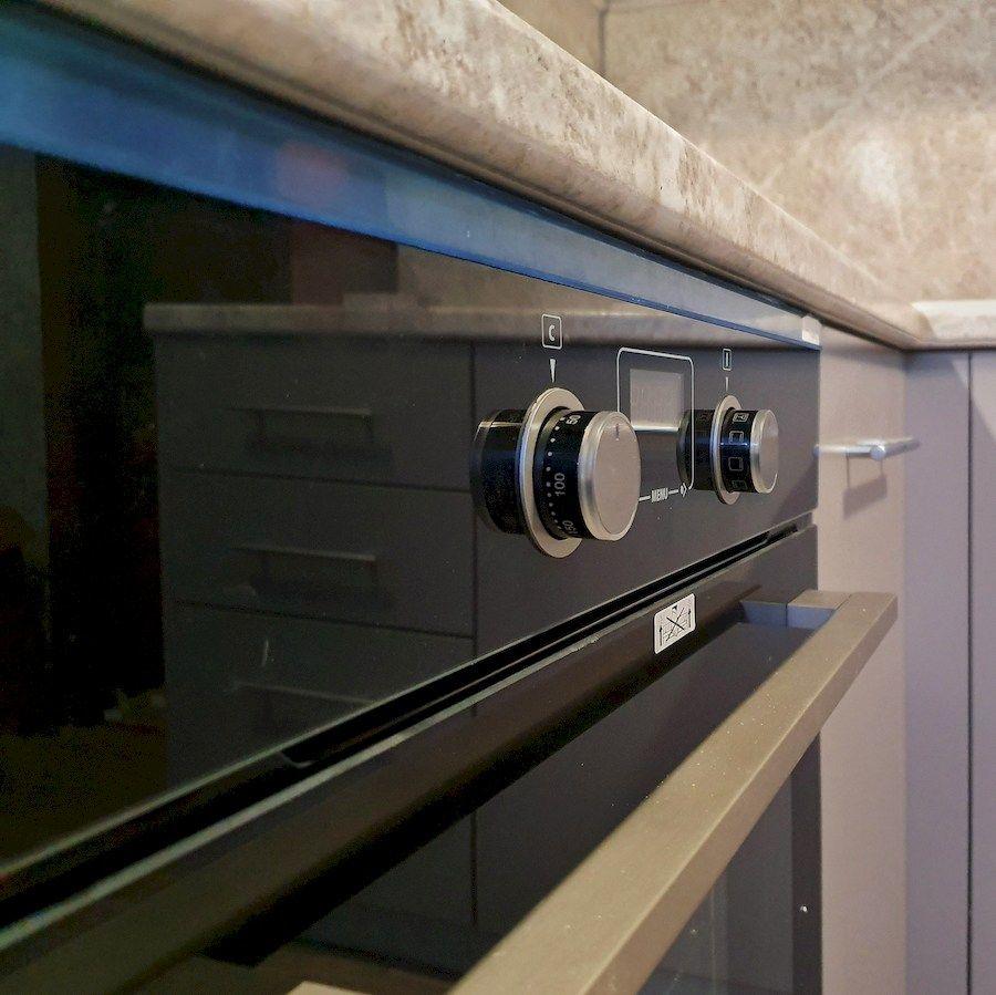 Бежевые кухни-Кухня МДФ в ПВХ «Модель 558»-фото6