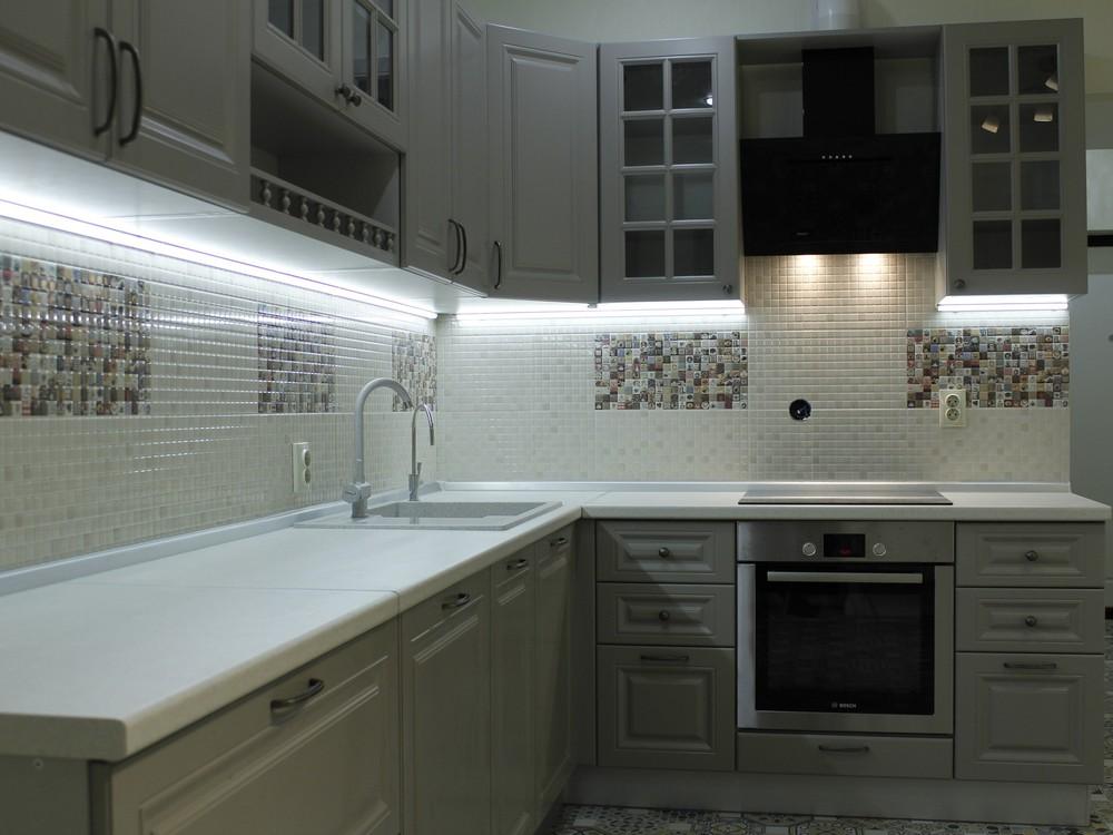 Встроенная кухня-Кухня из массива «Модель 157»-фото4