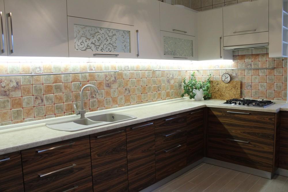 Акриловые кухни-Кухня МДФ в эмали «Модель 174»-фото5