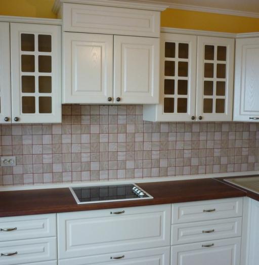 Белый кухонный гарнитур-Кухня МДФ в ПВХ «Модель 246»-фото5