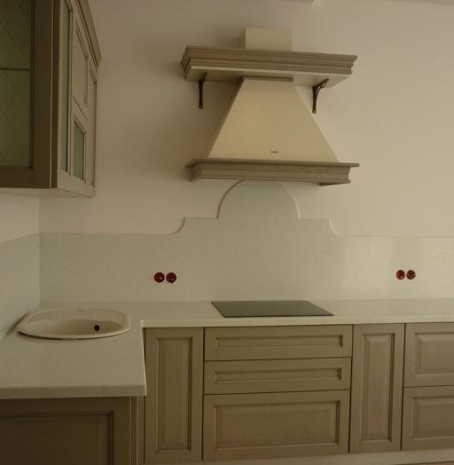 Белый кухонный гарнитур-Кухня МДФ в ПВХ «Модель 255»-фото5
