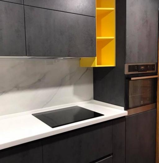 Встроенная кухня-Кухня из пластика «Модель 189»-фото8