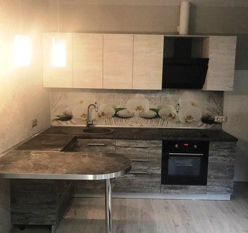 Белый кухонный гарнитур-Кухня из ЛДСП «Модель 397»-фото4