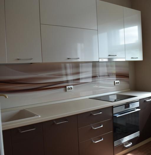 Белый кухонный гарнитур-Кухня МДФ в ПВХ «Модель 504»-фото15