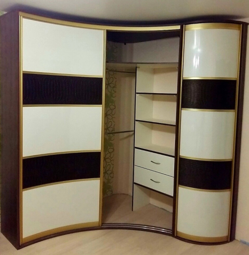 -Радиусный шкаф-купе «Модель 236»-фото2