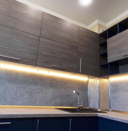 -Кухня МДФ в эмали «Модель 15»-фото19