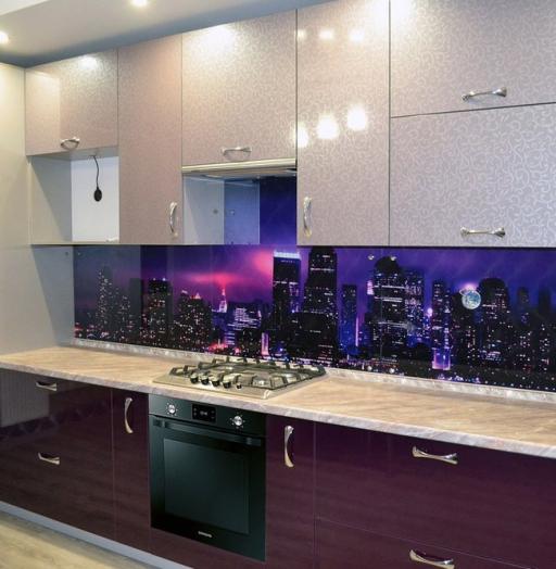 Встроенная кухня-Кухня из ПВХ «Модель 149»-фото4