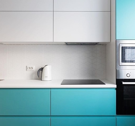 -Кухня МДФ в эмали «Модель 584»-фото8