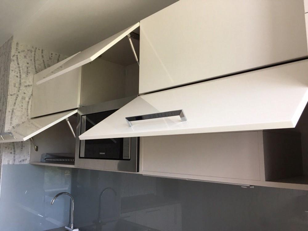 Белый кухонный гарнитур-Кухня МДФ в ПВХ «Модель 168»-фото7
